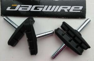 Genuine Jagwire brake blocks / pads cycle / bike cantilever brakes 53mm long