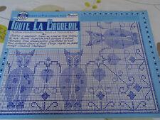 ANCIEN ALBUM POUR LE TROUSSEAU TOUTE LA BRODERIE N°78   ANNE 1960
