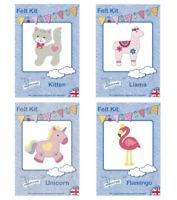 Childrens Felt Sewing Kit - Habicraft - Kids Craft Kits - 4 Different Designs JT
