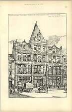 1892, Jw Lill Warehouse Bristol Street Birmingham, Essex Nicol Goodman