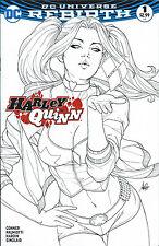 HARLEY QUINN #1 LEGACY EDITION STANLEY ARTGERM LAU COPIC COVER DC COMICS 2016