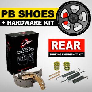Parking Emergency Brake Shoe + Hardware Fits Kit Ford F-150 2009-2011