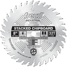 "FREUD 8"" STACKED CHIPBOARD BLADE, 34T, 5/8"" ARBOR (D2-002-R#5-WH04)"
