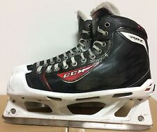 CCM RBZ Mens Pro Stock Hockey Goalie Skates Size 9 D 5739