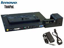 Lenovo ThinkPad Mini Dock Series 3 with USB 3.0 4337 With Genuine Lenovo AC Adp