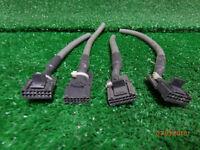 "Motorola PM400 CM300 PM400 maxtrac GM300 radio 16 pin accessory plug w/ 4"" leads"