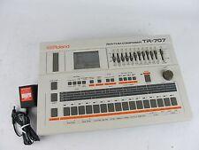 Roland TR-707 Rhythm Composer w/ Power Adapter