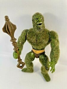 MOSS MAN Vintage 1985 He-Man Masters of the Universe MOTU Action Figure COMPLETE