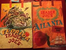 FLORIDA & ATLANTA Joe's BAGS reusable Shopping grocery ECO City bags NWT