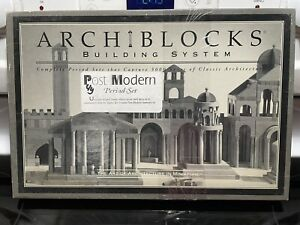 Archiblocks Post Modern set of Terrific wooden adult blocks