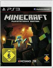 Sony PS3 Playstation 3 Spiel ***** Minecraft ****************************NEU*NEW