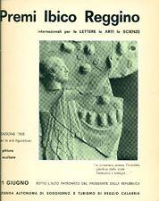 AA.VV. Premi Ibico Reggino internazionali per le lettere le arti le scienze 196
