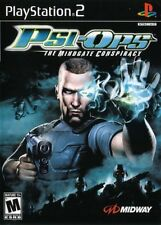 Psi-Ops: The Mindgate Conspiracy - Playstation 2 Game Complete