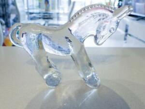 Kosta Boda RARE Glass DONKEY - Bertil Vallien Sweden  - Zoo Series