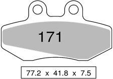 Couple plaquettes de frein avant organique CH RACING WSM 125 MOTARD 2005  TROFEO