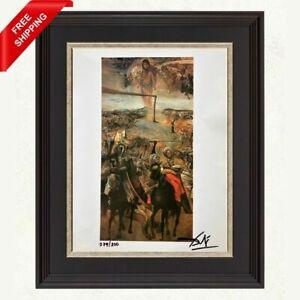 Salvador Dali Original Hand Signed Print  with Certificate of Authenticity