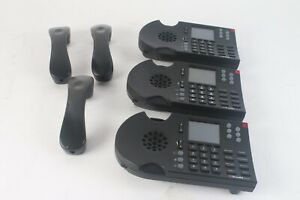 Shoretel 265 IP Voip Business Office Telephone Black - Lot of 3