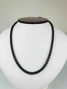 David Yurman Darkened Stainless Steel Chain Necklace 26' Inches 3.5mm