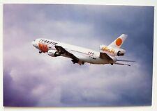 Scanair DC-10 Postcard