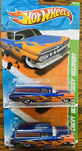 HOT WHEELS Treasure Hunt '59 Chevy Delivery Lot of 2 MINT🔥🔥