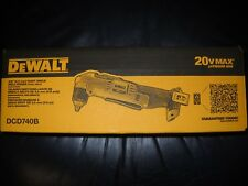 "DeWalt DCD740B 20V MAX Lithium Ion 3/8"" Right Angle Drill/Driver Cordless NEW"