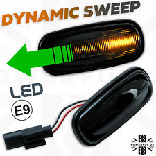 Dynamic Audi Style sweep Smoked LED Side Repeater indicator fits Freelander 1