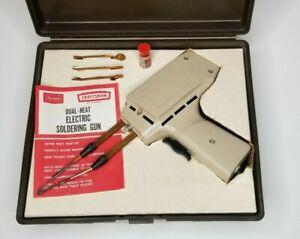 Vtg Craftsman 200 Dual-Heat Electric Soldering Gun Hi/Lo 230/150W Original Case