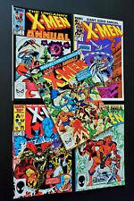 Lot of 5 X-Men Annuals #5 7 9 10 11 VF-NM- Nice Set