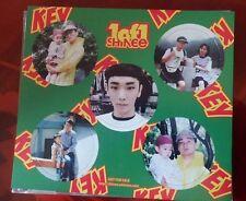 SHINee Key (Kibum) Official Photocard/Photopaper from 1 Of 1 album [K-Pop]