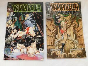 Lot of 2 Dark Horse Comics, Vampirella, Issues 2 and 3.  See Details.