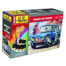Heller 1/24 Renault R8 Gordini Gift Set # 56700