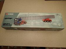Corgi 1:50 Ltd Edn 76802 I.R Dunkerley Man Tractor Unit and Beam Ex Shop Stock