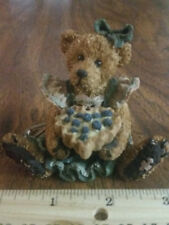 Boyds Bears Bailey The Baker . With Sweetie Pie Style #2254 Figurine