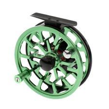 1 Stück Fliegen Angelrolle 2 + 1BB Aluminium Beide Seiten Fischen Rolle Grün