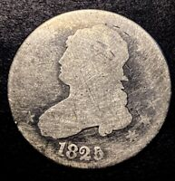 1825/4 Capped Bust Quarter 25c Rare B-3 Variety Overdate Mint Error