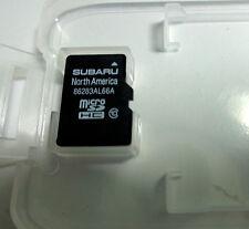 OEM 2015 2016 Subaru Legacy / Outback Navigation Micro SD HC Card Map U.S Canada
