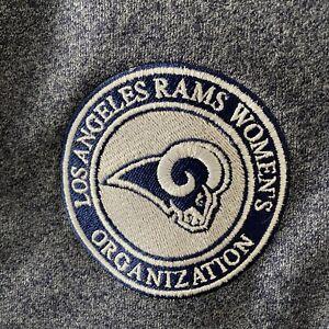 New Era Ladies Zip Up Jacket Los Angeles Rams Women's Organization Size S