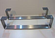 2er Set Möbelfuss Tischbein Tischbeine Küchentresen Tischfuß H 15 cm.