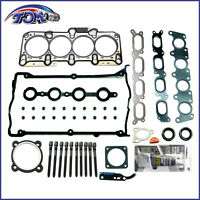 Brand New Cylinder Head Gasket Set Kit with Bolts For 99-06 AUDI VW 1.8L TURBO