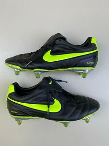 Nike Air Legend Tiempo II SG Football Soccer Cleats Size US 8.5 EUR 42 Bosnia