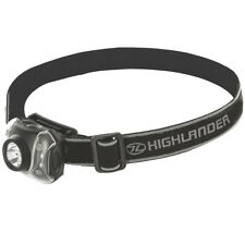 HIGHLANDER FLAME 7 LED WHITE RED EMERGENCY HEAD LIGHT CAMPING SAFETY HEADTORCH