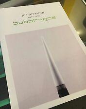 Joy Division substance promotional A3 super quality heavy canvas paper print