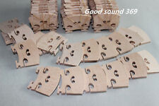 20 pcs most solid maple wood 4/4 violin bridges dried in the open air 15 years
