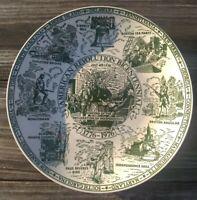 American Revolution Bicentennial Commerative Plate #1 1976 Enco National Vintage
