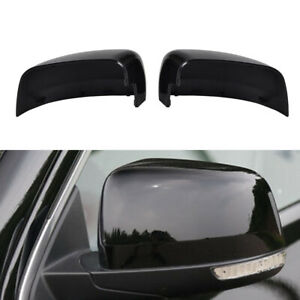 Fits Jeep Grand Cherokee 2011-2019 ABS Rearview Mirror Cover Kit Black 5G0857537
