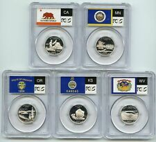2005 S Silver State Quarter Set PCGS PR69DCAM