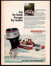 1976 EVINRUDE 175 Outboard Motor Vintage Boating AD