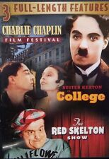 Charlie Chaplin Film Festival/Buster Keaton in College/The Red Skelton Show DVD