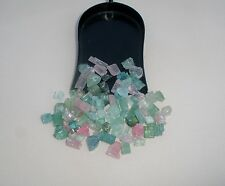 Tourmaline crystal rough natural gem mix parcel over 50 carats