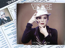 VISAGE CD Dreamer I Know 9 Track EP. w/ PROMO Info Sheet REMIXES Extended NEW